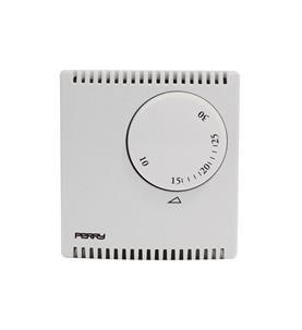 """Perry 1TP TE503A  Termostato elettronico serie """"ZEFIRO"""" con comando EST//INV"""