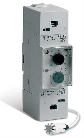 Din Rail Mounted And Mechanical Thermostats Perry Electric